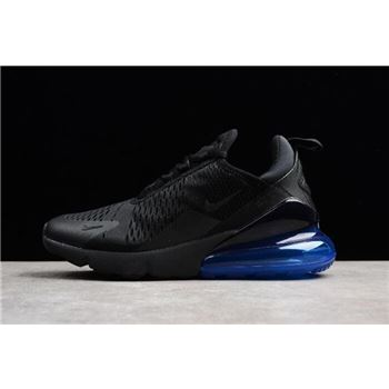 Mens and WMNS Nike Air Max 270 Photo Blue Black Photo Blue
