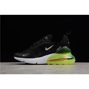 Mens and Womens Nike Max 270 Black Volt White
