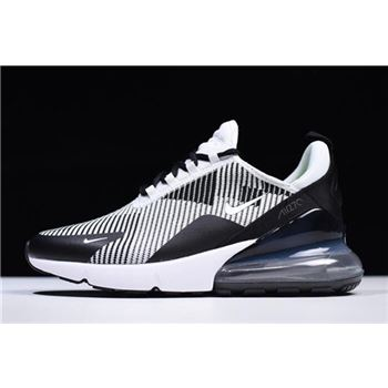 NIKEiD Air Max 270 Black White Mens Size