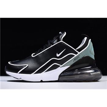 Nike Air Max 270 Flyknit Black/White-Light Green AH8060-001