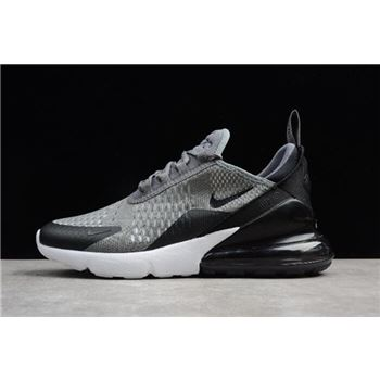 Nike Air Max 270 Grey Black White Mens Size For Sale