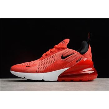 Nike Air Max 270 Habanero Red Black White Challenge Red