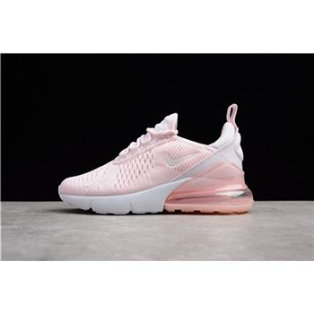 Nike Air Max 270 Pink White AH8050 600 Womens Size