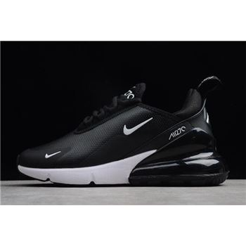 Nike Air Max 270 Premium Black Sail Metallic Cool Grey Light Carbon