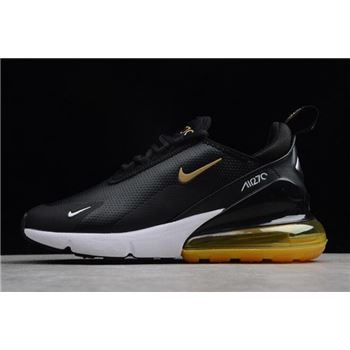 Nike Air Max 270 Premium Black Yellow White