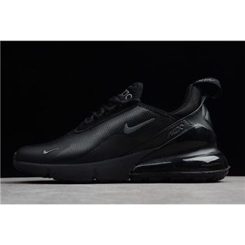 Nike Air Max 270 Premium Triple Black Men's Size For Sale
