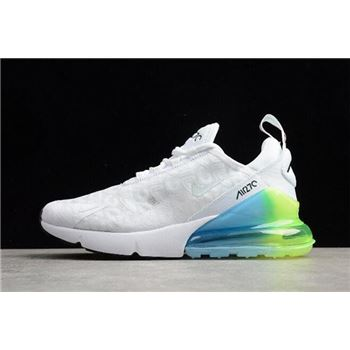 Nike Air Max 270 SE White/Explosion Green-Yellow AQ9164-100
