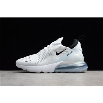 Nike Air Max 270 White Black Mens and Womens Running Shoes