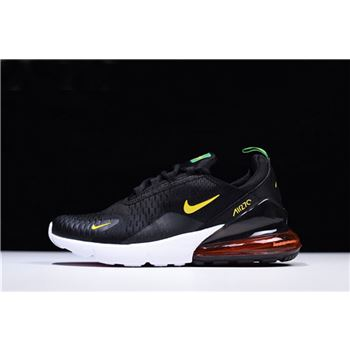 Nike Air Max 270 World Cup 2018 In Black Green Yellow For Brazil