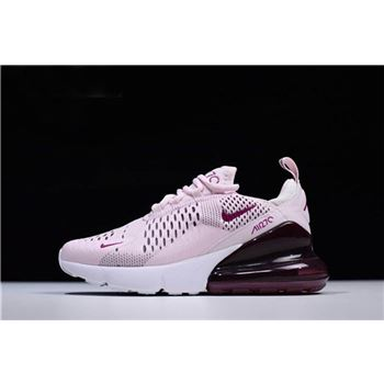 Nike WMNS Air Max 270 Barely Rose Vintage Wine Elemental Rose White