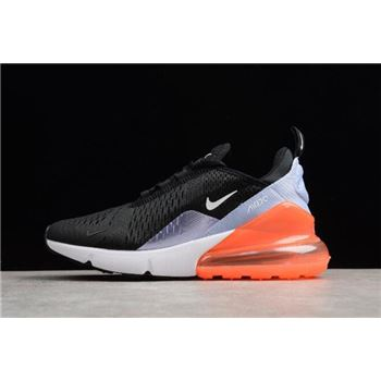 Nike WMNS Air Max 270 Black White Light Purple Orange