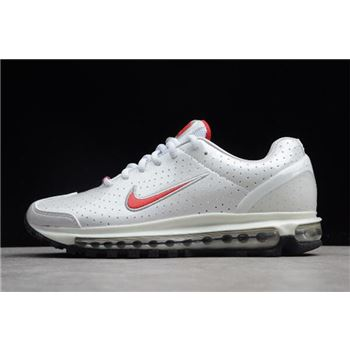 Womens Nike Air Max 2003 SS Milky White Red