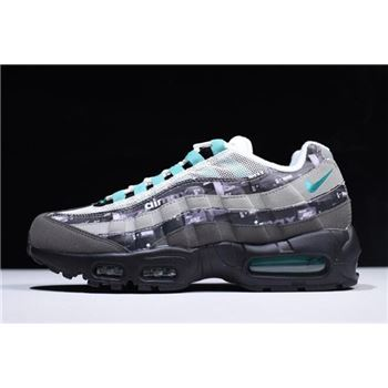 Atmos x Nike Air Max 95 We Love Nike Black Clear Jade Medium Ash DK