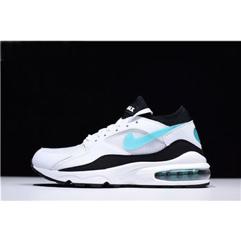Mens and WMNS Nike Air Max 93 OG Dusty Cactus White Sport Turquoise Black