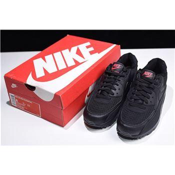Nike Air Max 90 Essential Black Metallic Silver 537384 084