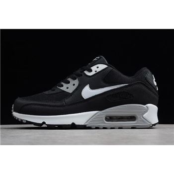 Nike Air Max 90 Essential Black White Wolf Grey