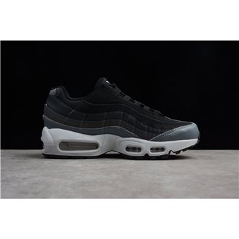 Nike Air Max 95 Essential AnthraciteCool Grey Red Running Shoes 749766 025