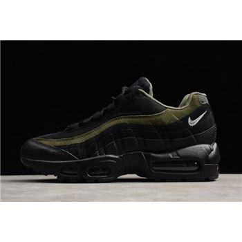 Nike Air Max 95 HAL Black/Black-Cargo Khaki-Flat Silver Men's Shoe AH8444-001