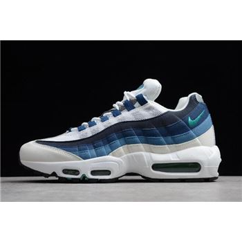 Nike Air Max 95 OG White Emerald Green Court Blue Slate