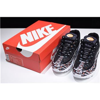 Nike Air Max 95 SE Just Do It Black Shoes AV6246 001 for