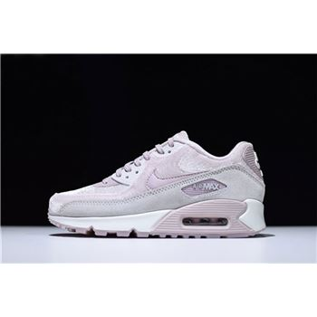 WMNS Nike Air Max 90 LX Particle Rose Vast Grey Summit White
