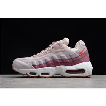 WMNS Nike Air Max 95 Barely Rose/Hot Punch 307960-603