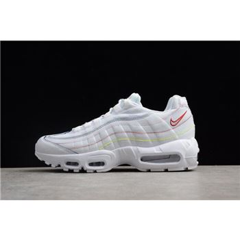 WMNS Nike Air Max 95 SE Triple White