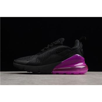 Womens Nike Air Max 270 Black Purple