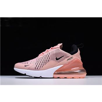 Womens Nike Air Max 270 Coral Stardust Black Summit White