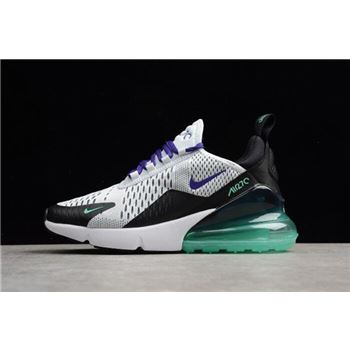 Womens Nike Air Max 270 Grape Running Shoes