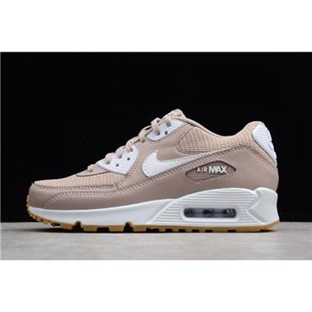 Womens Nike Air Max 90 Essential Diffused Taupe White Gum