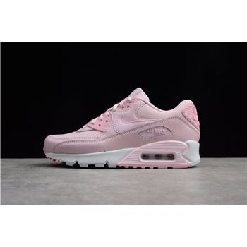 Womens Nike Air Max 90 Se Mesh GS Prism Pink White