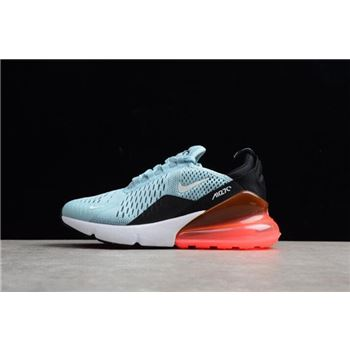 Womens Size Nike Air Max 270 Ocean Bliss Black Hot Punch