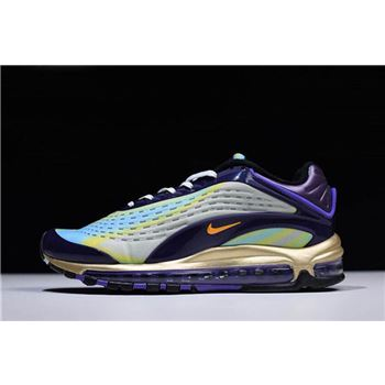 Nike Air Max 99 Deluxe OG Midnight Navy/Laser Orange Men's and Women's Size AQ1272-400