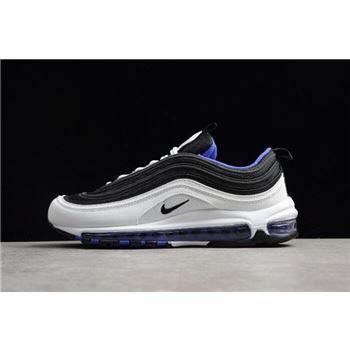 New Nike Air Max 97 White Black Persin Violet Mens Size Shoes