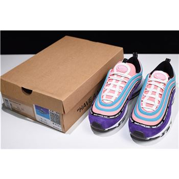 Nike Air Max 97 Have a Nike Day Purple Green Pink White