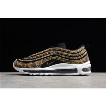 Nike Air Max 97 Premium QS Germany German Camo AJ2614-204 Men's Size