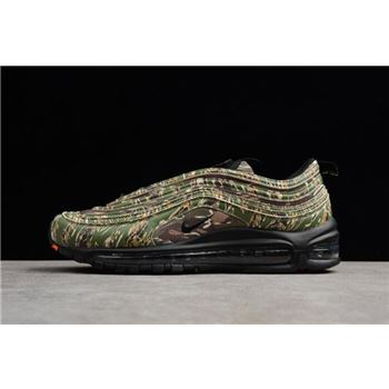 Nike Air Max 97 Premium QS USA Camo Medium Olive/Black-Desert Sand AJ2614-205