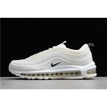 Nike Air Max 97 Reflective Logo Sail Black White