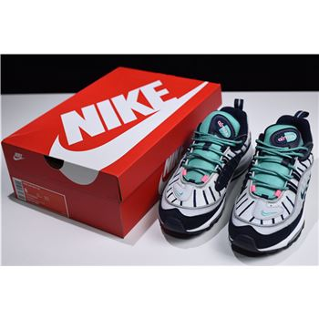 Nike Air Max 98 Shoes Pure Platinum Obsidian Kinetic