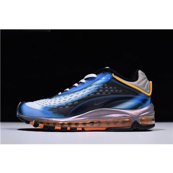 Nike Air Max Deluxe Photo Blue Photo Blue Wolf Grey Orange Peel Black