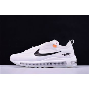 Off White x Nike Air Max 97 OG White Cone Ice Blue
