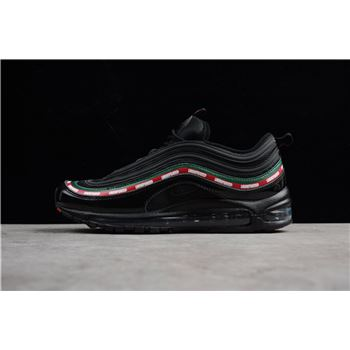 Undefeated x Nike Air Max 97 OG Black Gorge Green White Speed Red
