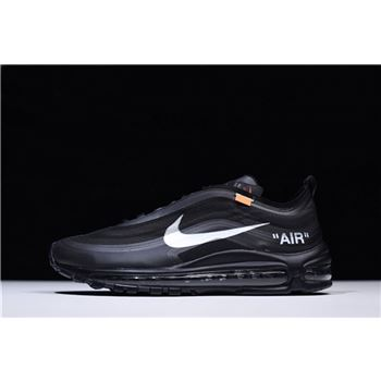 Virgil Ablohs Off White x Nike Air Max 97 OG Black Cone Black White