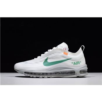 Virgil Ablohs Off White x Nike Air Max 97 OG Off White Wolf Grey White Menta