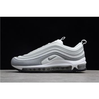 Womens Nike Air Max 97 Ultra White Pure Platinum Wolf Grey