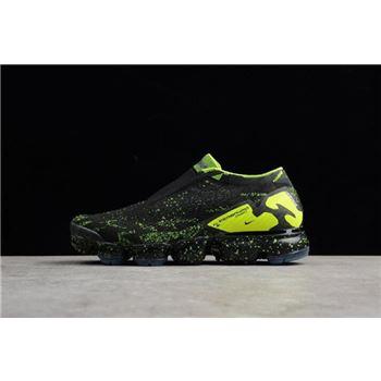 Acronym x Nike Air VaporMax Moc 2 Black/Volt-Black AQ0996-007 Men's Size