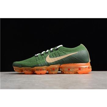 Dragon Ball Super NikeLab Air VaporMax Flyknit 2018 Dark Green Light Brown