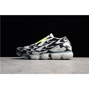 Mens ACRONYM x Nike VaporMax Moc 2 Light Bone Black Volt