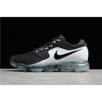 Mens Nike Air VaporMax CS Black White Red